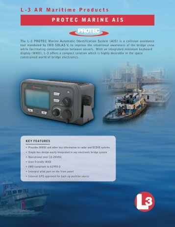 Aviation Recorders pRotec-W InlAnd WAteRWAy AIs l ... - Shine Micro