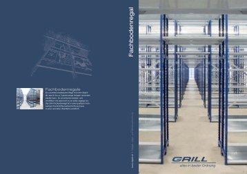 Fachbodenregale von Grill - Grill GmbH