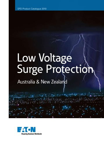 Low Voltage Surge Protection - Powerware