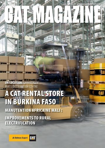 A CAT ReNTAL STORe IN BuRkINA FASO - JA Delmas