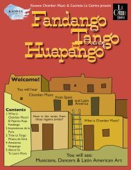 Fandango Tango Huapango - North Carolina Arts Council