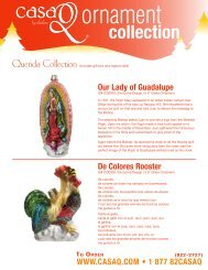 Our Lady of Guadalupe De Colores Rooster - CasaQ Ornaments