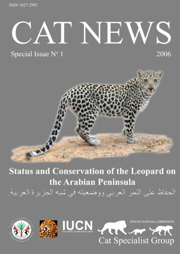 Status and Conservation of the Leopard on the Arabian Peninsula ...