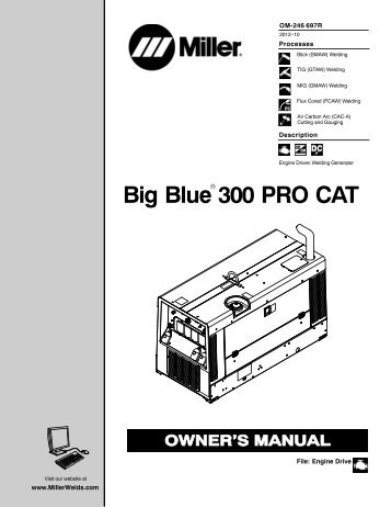 big blue 300 pro cat miller?quality=85 big blue 500x eco pro miller Miller Roughneck 1E Parts at fashall.co