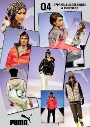 Q4 APPAREL & ACCESSORIES & FOOTWEAR - Puma
