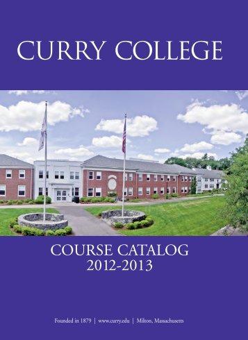 Main cat Cvr 05.06Final - Curry College