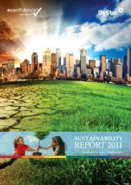 2011 Sustainability Report - DyStar