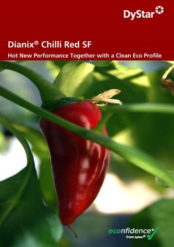 Profile of Dianix® Chilli Red SF - DyStar