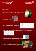 Profile of Dianix® Chilli Red SF - DyStar - Page 3