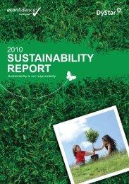 2010 Sustainability Report - Fibre2fashion