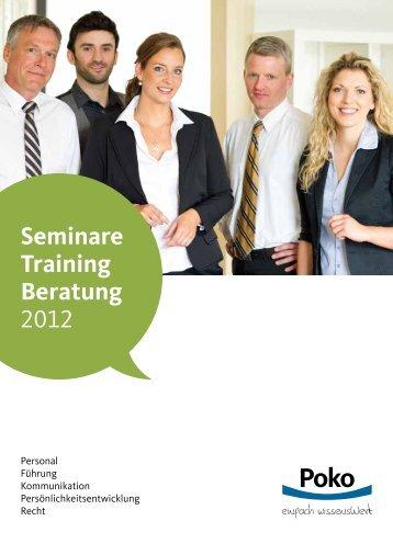 Seminare Training Beratung 2012 - Branchenbuch Deutschland