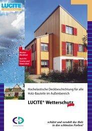 LUCITE® Wetterschutz - CD-Color GmbH & Co.KG