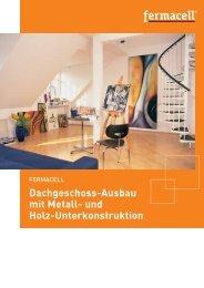 FERMACELL - Dachgeschoss-Ausbau mit Metall - ausbau-schlau