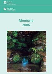 Memòria de l'any 2006 [en format pdf - Diputació de Barcelona