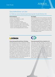 Download Case Study als PDF - Atreus Interim Management