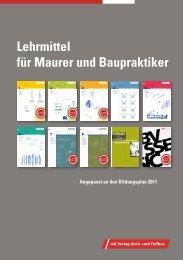 Lehrmittel für Maurer und Baupraktiker - Schweizer Bauwirtschaft