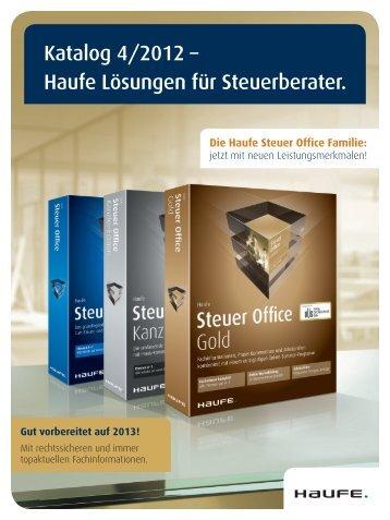 Katalog 4/2012 – Haufe Lösungen für Steuerberater. - Haufe Shop ...