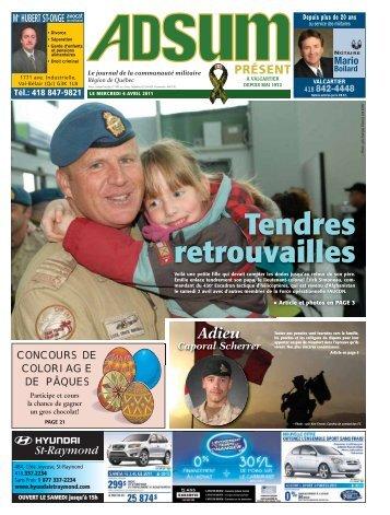 6 avril 2011 - Journal Adsum