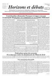 Fédération suisse des avocats: Il ne faut pas violer ... - Réseau Voltaire