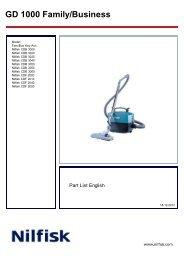 GD 1000 Family/Business - Nilfisk-Advance Group