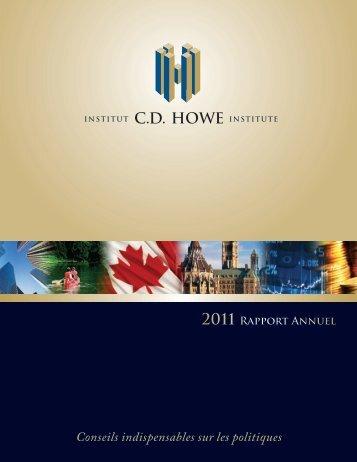 INSTITUT C.D. HOWE - CD Howe Institute