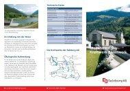 Modernisierung Kraftwerk Bärenwerk - Salzburg AG