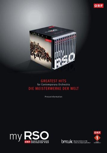 "Präsentation der CD-Edition ""my RSO - Greatest Hits for ..."