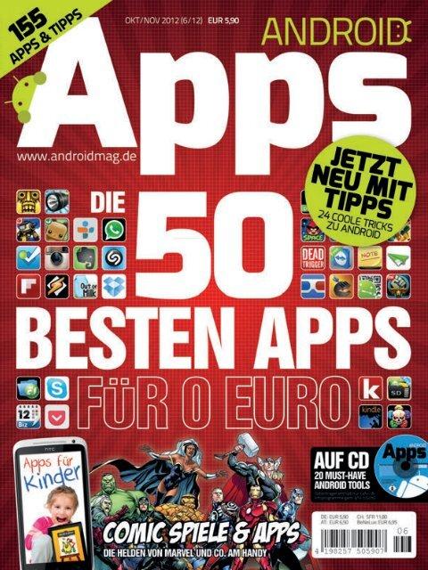 Die besten gratis apps android