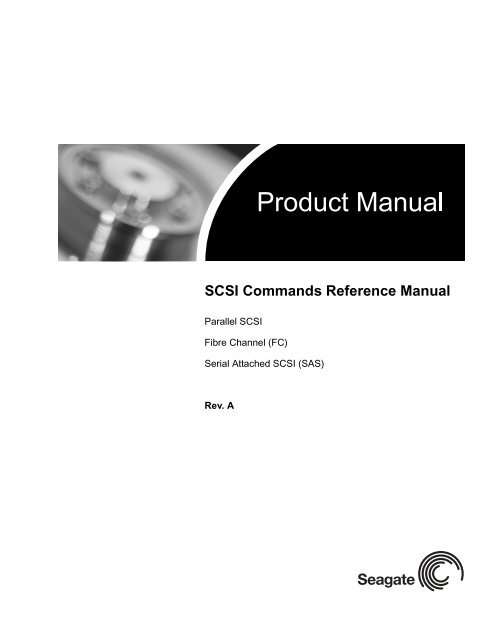 SCSI Commands Reference Manual - Seagate