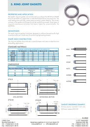 5. RING JOINT GASKETS