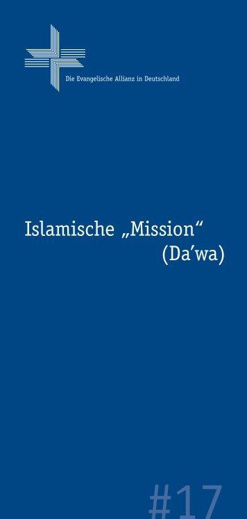 17 Die Islamische Mission - 2... - Deutsche Evangelische Allianz