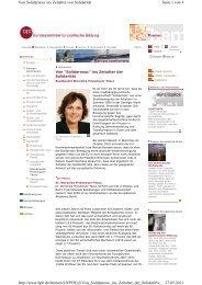 Bundeszentrale für politische Bildung 27.05.11 - Europäische ...