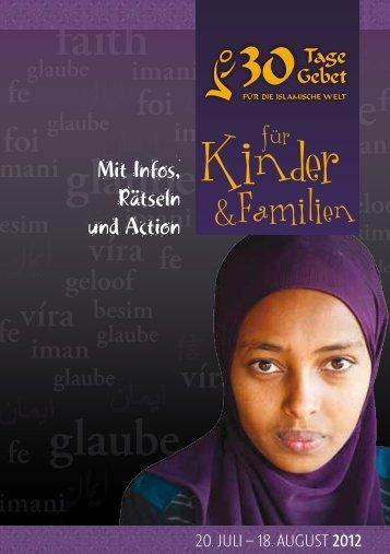 30 Tage Gebet 2012 - Spezialausgabe für Kinder und - Deutsche ...