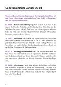 Gebetsheft 1. Quartal 2011 - Deutsche Evangelische Allianz - Seite 2