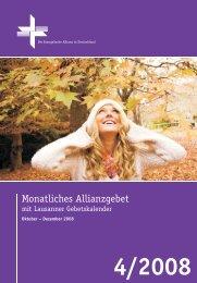 Ein unverschämtes Gebet - Deutsche Evangelische Allianz
