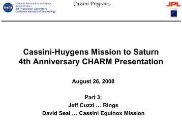 PDF (8 MB) - Cassini - Nasa