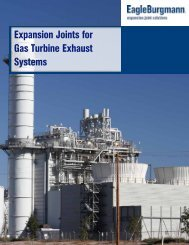 Expansion Joints for Gas Turbine Exhaust Systems - EagleBurgmann
