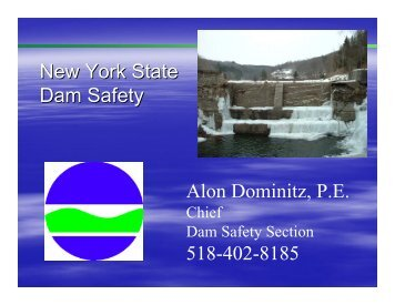 Dam Classification - NYSACC