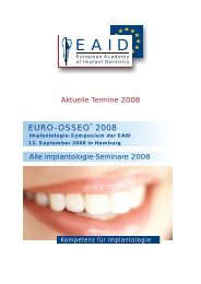 Nobel - EAID - European Academy of Implant Dentistry