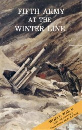 Fifth Army at the Winter Line - US Army Center Of Military History