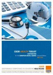 COCIR eHEALTH TOOLKIT 2012