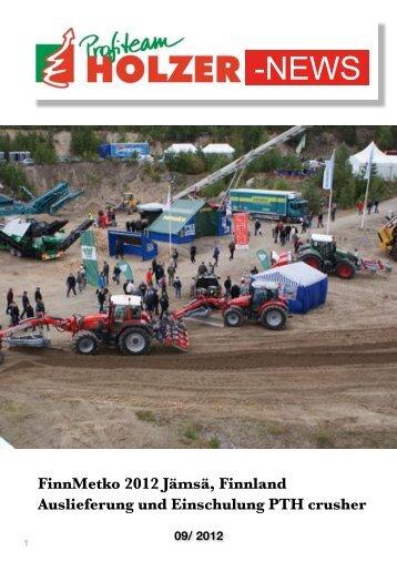 FinnMETKO 2012 - PTH products by Profiteam Holzer in Neuberg ...