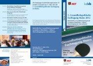 5. Gesundheitspolitische Fachtagung Mainz 2012 - KLAUS H ...