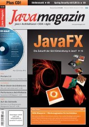 Java Magazin - OPITZ CONSULTING