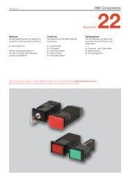 HMI Components Baureihe 22 - Eao