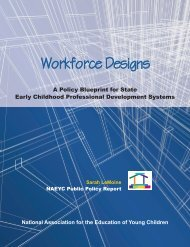 Workforce Designs - National Association for the Education of ...