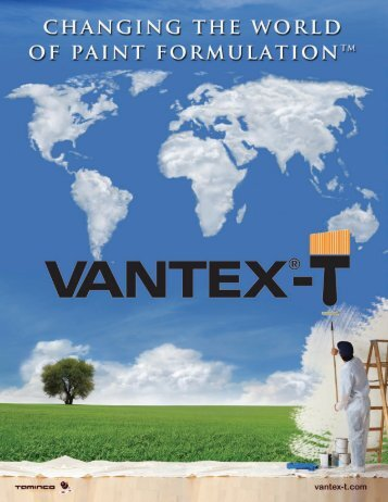 Vantex®-T Amine Additive
