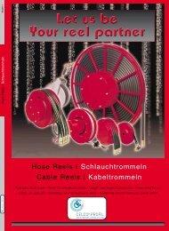 Schlauchtrommeln Cable Reels | Kabeltrommeln ... - Celco Profil