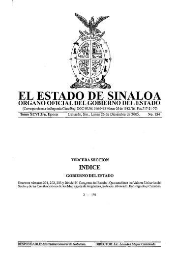 v/audad - Gobierno del Estado de Sinaloa