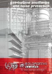 gas-turbine ancillaries and noise protection - Boldrocchi